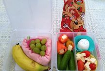 First you eat with your eyes / first you eat with your eyes - My Girl's lunch boxes for school