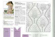 Croche Primavera Verão / Biquinis, saias, vestidos, tops, cropped, moda primavera verão em croche