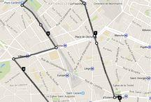 Run #boostbatignolles du Mardi / Itinéraire effectué lors du Run de Mardi