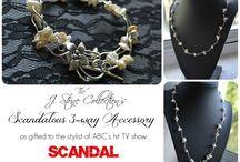 Scandalous 3 Way Acc / by Ria Alemina Ginting