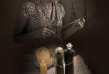 """Выставка Натальи Рябининой """"Сделано руками, создано душой"""""""