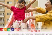 MCHI CREDAI 6th Property Exhibition in Kalyan & Dombivli from 23rd to 26th Jan 2016