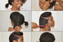 penteados para crespos