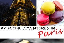 a foodie in Paris! / #foodie #adventures - what and where to eat in #Paris - #travel #trip #