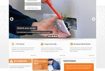 Elektrik Sektörü Tasarımları / Web Tasarımı