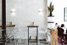 restaurants, cafes, bar interiors and furniture