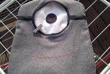 Wäscheklammerbeutel / KlammheimLich das Monster das Wäscheklammern zum fressen gern hat