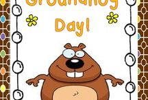 Groundhog Best TPT Creations for Pre-k to 7th Grade / Find everything you need for Groundhog day!!!