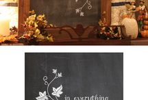 Chalkboard art ideas