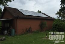 Mickle Trafford - 4kW Domestic Solar PV (June 2015) / Another 4kW domestic installation from a busy Saturday in June 2015. Yes, we can even install on the weekends!
