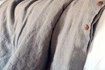 Rustic Bed linen