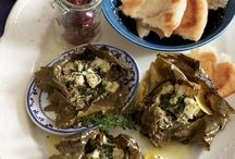 Greek vine leaves / by Kathy Ziogas