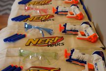 Logan nerf gun party