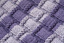 Pontos trico e crochê