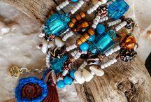 Boho Bracelet Knotted  by Evantia Moris