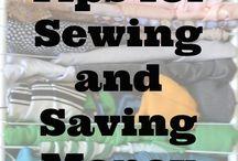 sewing / by Tori Bowman