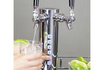 Liquor Kegerators / Liquor dispensers and liquor kegerators.