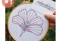 Feeling Random Friday / Focused on embroiderers, cross stitchers, quilters, sewers, knitters, crocheters (I know it's a hook, but needles are sometimes used.), tattooers, you name it - any art or craft that uses a needle. The world is big and varied, so why not try to see as much of it as we can?! If you come across an artist who uses a needle, tag #feelingrandomfriday for me so I can take a look!