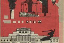 Plany Warszawy , przewodniki - PRL (1945-19489)