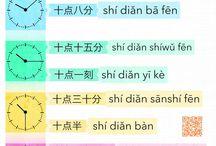 Chinese òra/idő tanìtás