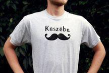 Kaszëba / Koszulka męska. Gramatura 160G/M2 100% bawełna - miękki, elastyczny bardzo przyjemny w dotyku materiał. Rozmiary: S, M, L, XL, XXL.
