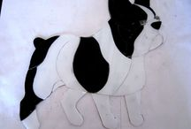 frenchies vitraux monica soria / bull french