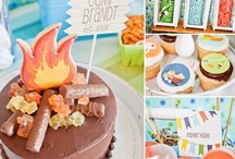 Summer Camping Birthday Party / by Tazza
