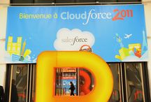 Signage | Cloudforce London 2011 / Like what you see? Find out more at http://bit.ly/2w1z20j