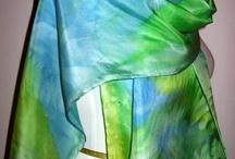 silk scarve colouways