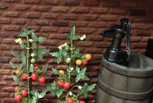Mini Tutes Fruit&Veg Plants / Tutorials for making miniature fruit and vegetable plants