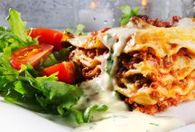 Pizza, pasta og pølser