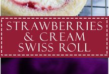 Recipes : Roll Cakes