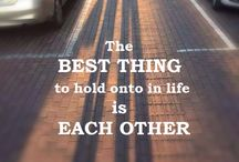 Inspirational Quotes / Quotes on life, love, health, friendship and everything that inspire us to stay positive