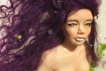 My ooak doll polymer clay / Doll handmade polymer clay ooak