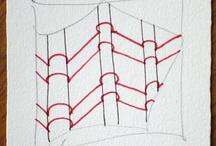 Art Ed - Drawing - Zentangles / by Christopher Schneider