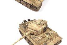 Tiger I Tank / DIORAMAS