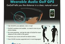 What is GoGolfGPS? / All about GoGolfGPS - your wearable audio golf gps!