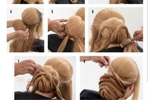 hair . how to made