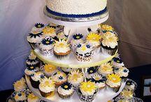 Pastel / wedding cake