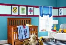 Nursery Paint Colors and Schemes / Create a calming sanctuary, a vibrant, cheerful space or a warm and cozy retreat for your bundle of joy with Sherwin-Williams paint colors.