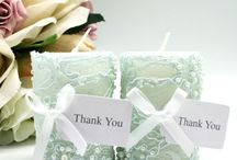 BLUE LACE & FLOWERS / Beautiful applications using Embellishment Gallery components.