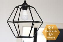 geometric lamps