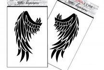 Tatouage ange et démon