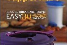 Tupperware Recipes...