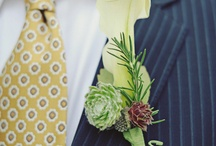 Boutonnieres / Inspiration board for lapel pins and boutonnieres. See our favorite boutonnieres in any color imaginable. / by Bows-N-Ties | Inspiration for Men's Ties, Bow Ties, & Neckties