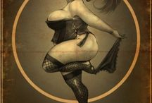 LUXE Burlesque Poster Inspiration