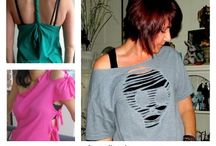 Using old t-shirts