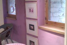 Purple Henrietta living room decor ideas