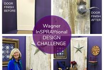 Projects with Wagner Painting Tools