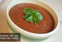 dips & Salsa recipes / by michael bean